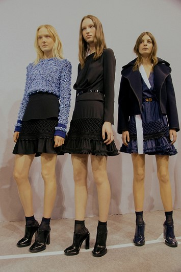 Carven AW15, Dazed backstage, Womenswear, Paris