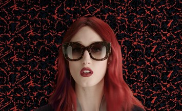 Anna Cleveland in Fendi sunglasses campaign film