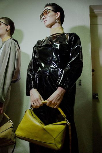Loewe AW15, Dazed backstage, Womenswear, Paris