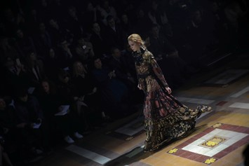 Lanvin AW15, Dazed runway, Womenswear, Paris
