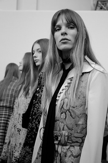 Chloé AW15, Dazed backstage, Womenswear, Paris