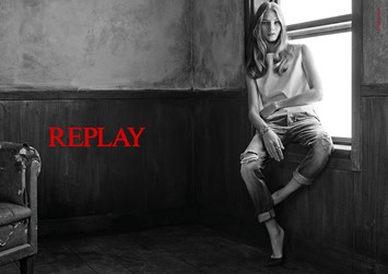 Anna Selezneva Isaac Carew Replay SS15 campaign