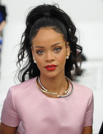 Rihanna at Dior Resort AW14
