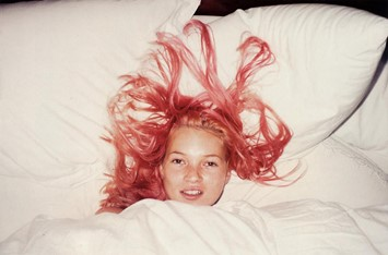 Pink haired Kate Moss Juergen Teller