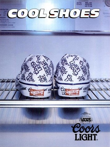 coors  beer Cult vans collaborations
