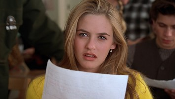 Alicia Silverstone as Cher in 'Clueless'