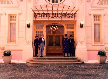 Grand Budapest Hotel movie still