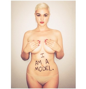 Stefania Ferrario Drop The Plus feature interview model