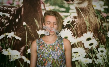 boy smoking weed