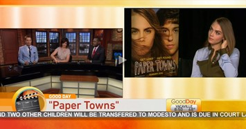 Cara Delevigne on Good Day Sacremento