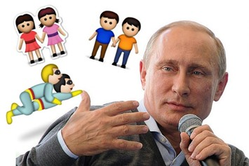 Putin wants to ban emojis