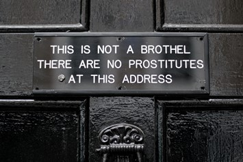 Soho prostitutes sign