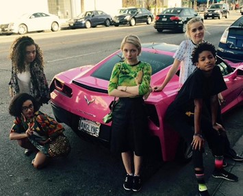 New teen icons Tavi Kiernan Shipka Willow Smith Amandla