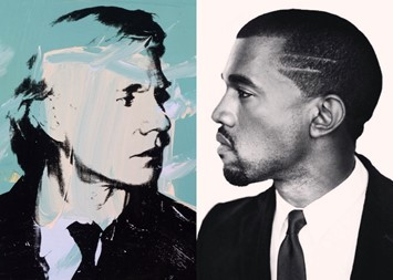 Everyone Kanye West has compared himself to mash up collages