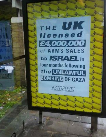 Dismaland artists hit London tube with 300 anti-war posters