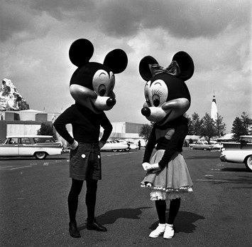 Mickey and Minnie, Disneyland, 1950s