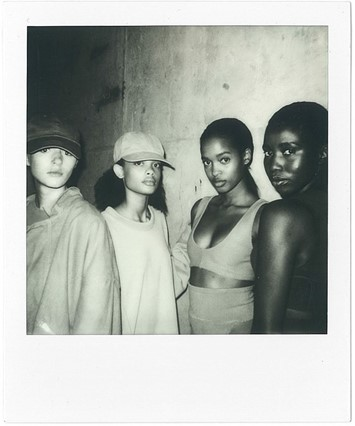 Yeezy SS16 polaroids, Dazed Digital