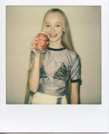 Sadie Williams SS16 instant film Dazed Digital
