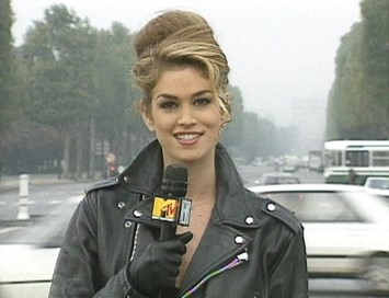 Cindy Crawford on MTV's 'House of Style'