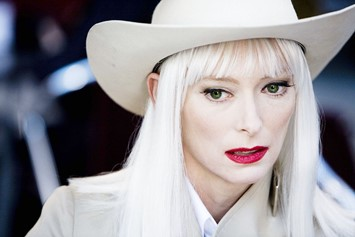 Tilda Swinton Limits of Control Fashion
