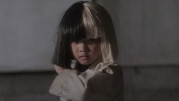 Still from Sia's 'Alive' video