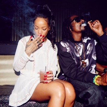Rihanna and Snoop Dogg