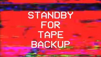 Stand By For Tape Back-up