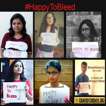 #HappyToBleed poster