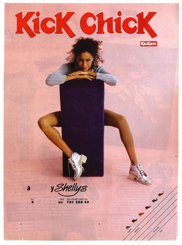 Kickers advertising campaign