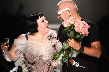 Beth Ditto and Jean Paul Gautlier