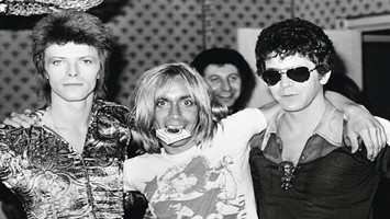 David Bowie, Iggy Pop & Lou Reed