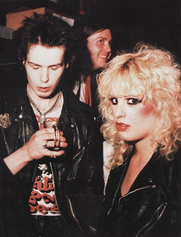 Sid Vicous and Nancy Spungen in punk mag
