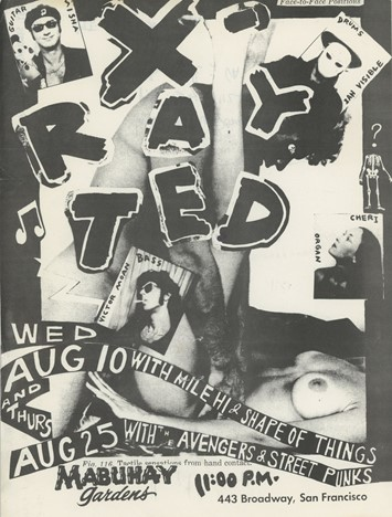 Punk and Hardcore Fliers, Zines and Ephemera – XRay Ted