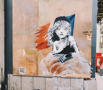 banksy french embassy