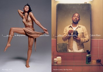 FKA twigs and Kendrick Lamar for Calvin Klein SS16 campaign