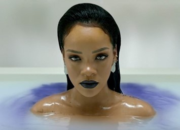 Rihanna in a teaser for 'ANTI'