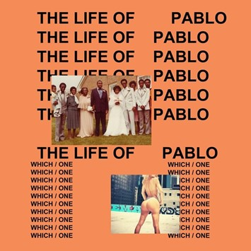 'The Life of Pablo' album cover