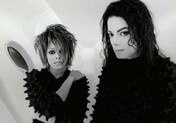 """Still from Michael and Janet Jackson's """"Scream"""""""