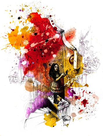 Molly Crabapple illustration