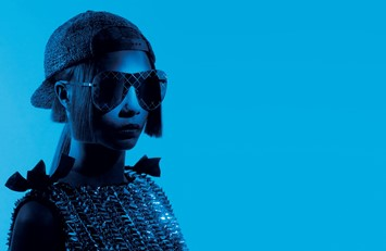 Cara Delevingne for Chanel SS16 eyewear campaign