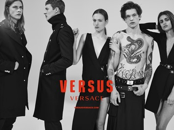 Versus Versace AW15 campaign fall Collier Schorr 2015