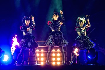 Babymetal live at Wembley Arena