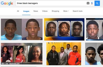 black teenagers google search