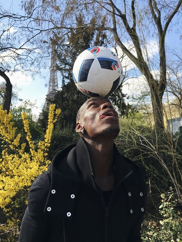 Adidas presents Paul Pogba by Juergen Teller