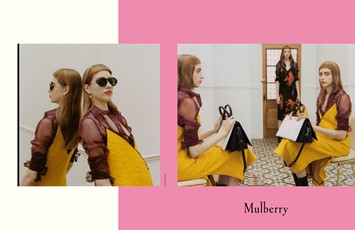 Mulberry Winter 2016 campaign