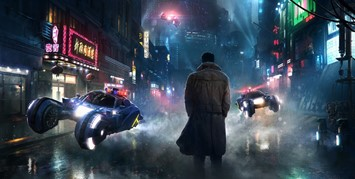 Concept art from the Blade Runner sequel