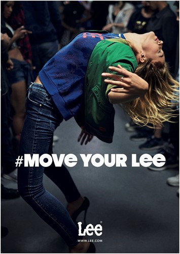 Move Your Lee AW16 campaign