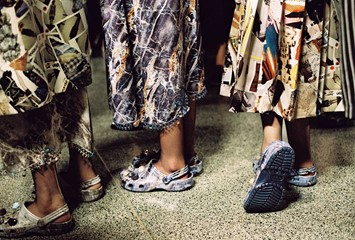 Backstage at Christopher Kane SS17 LFW Dazed