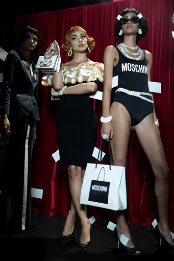 Moschino SS17 womenswear Milan Dazed backstage