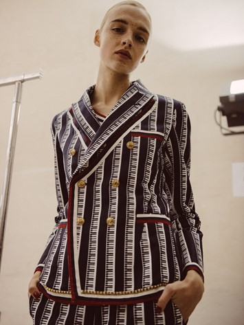 Backstage at Undercover SS17 PFW Dazed Womenswear